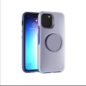 NEW iPhone 11 Lavender Swappable Top Case